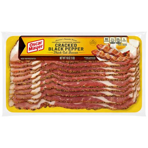 Oscar Mayer Bacon, Cracked Black Pepper, 16 oz