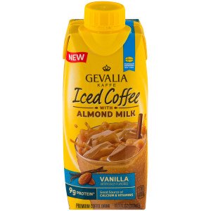 Gevalia Iced Coffee with Almond Milk - Vanilla, 11.1 oz. image