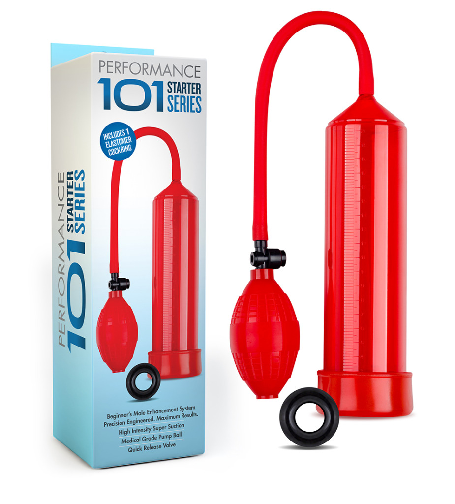Performance 101 Starter Series Pump - Red