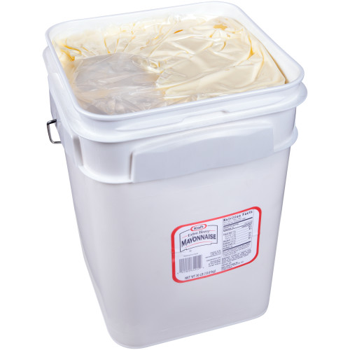 KRAFT Bulk Extra Heavy Mayonnaise, 30 lb. Pail (Pack of 1)