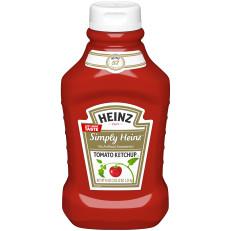 Heinz Simply Heinz Tomato Ketchup 44 oz Bottle image