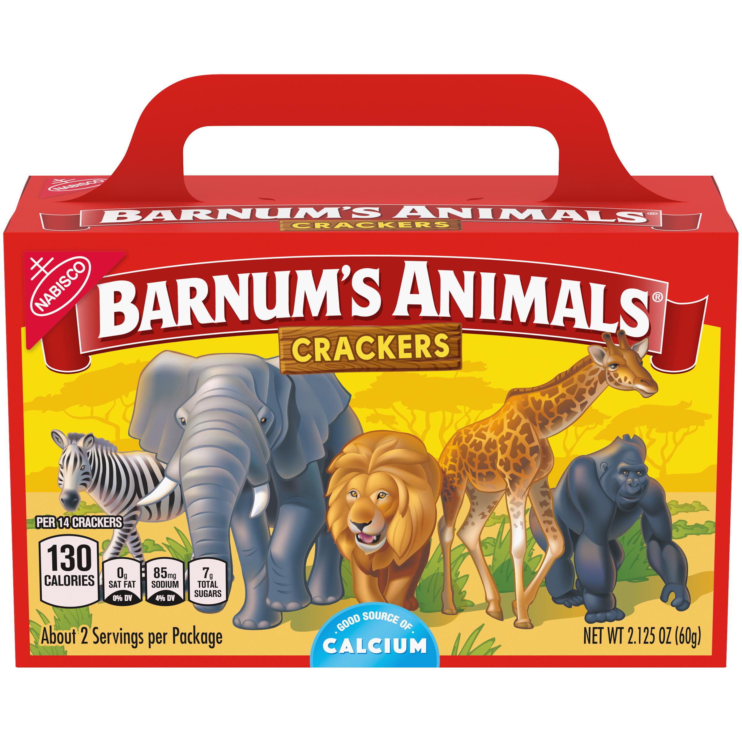 BARNUMS Original Animal Crackers 2.13 oz