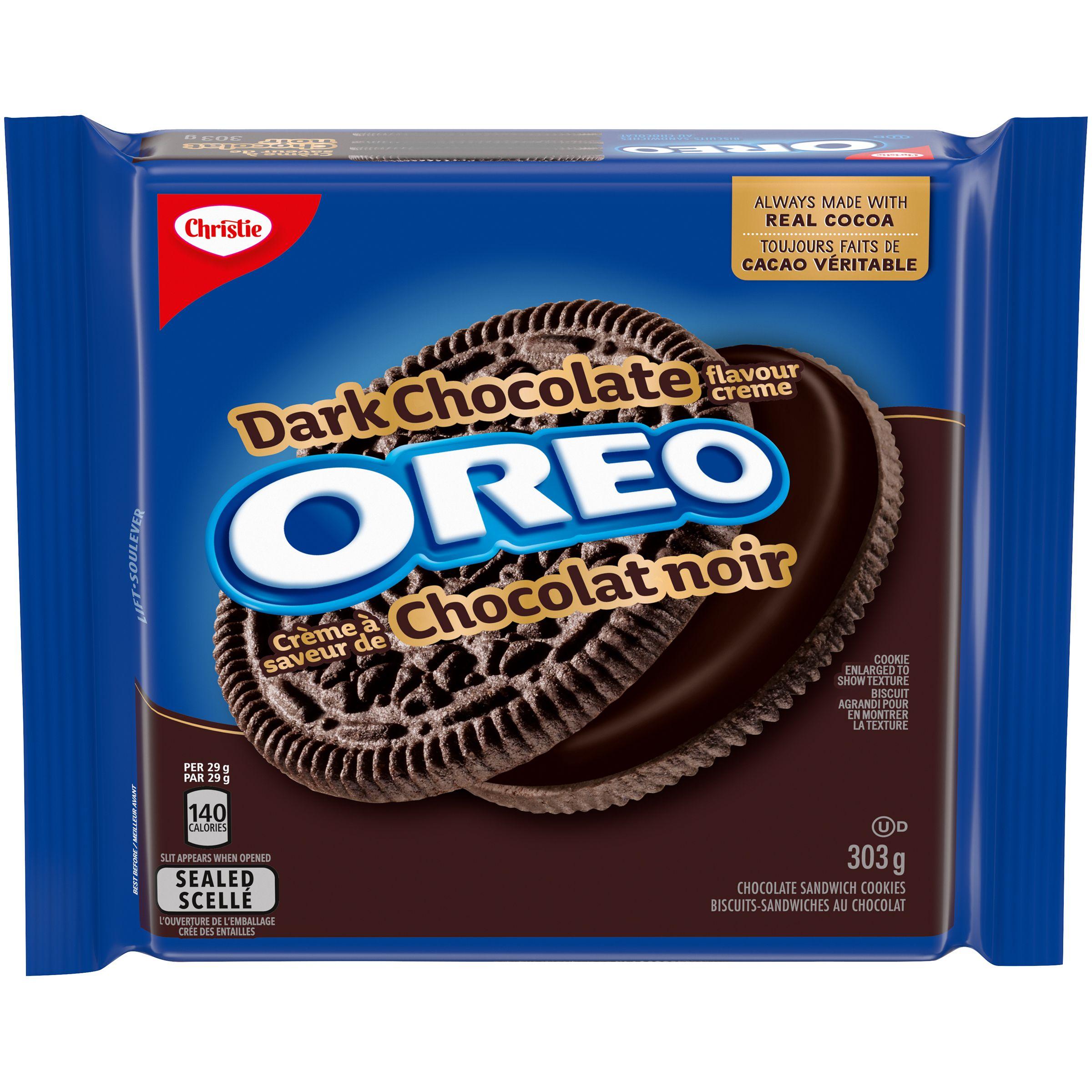 OREO  DARK CHOCOLATE 303 GRM