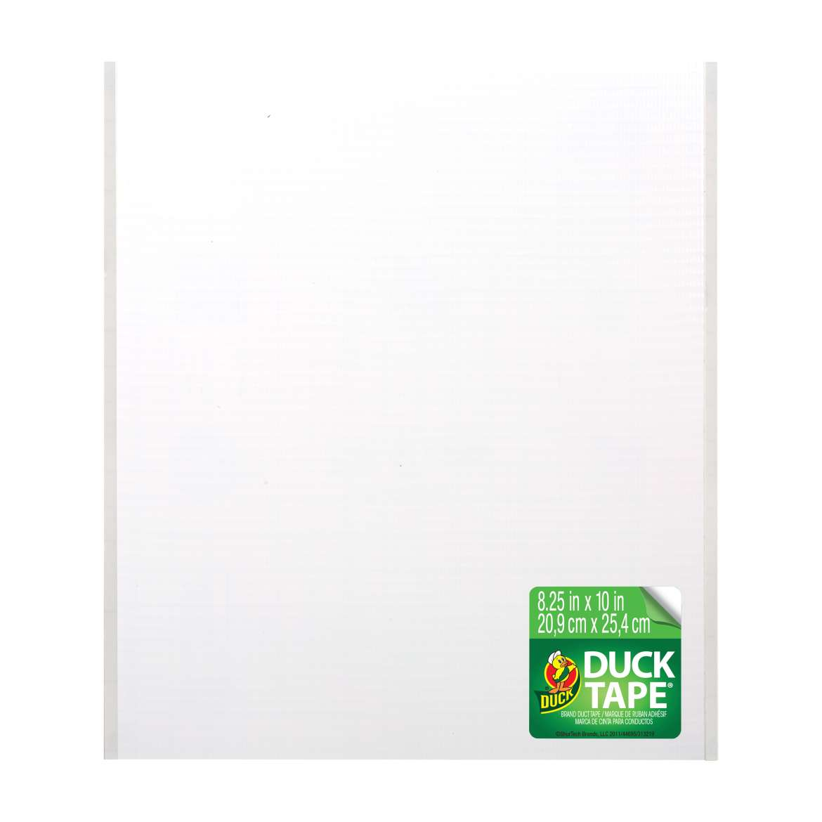 Color Duck Tape® Sheets - White, 6 pk, 8.25 in. x 10 in. Image