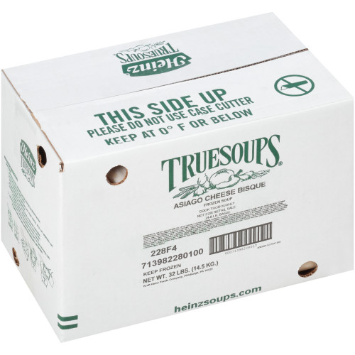 HEINZ TRUESOUPS Asiago Cheese Bisque with Ham Soup, 8 lb. Bag (Pack of 4)