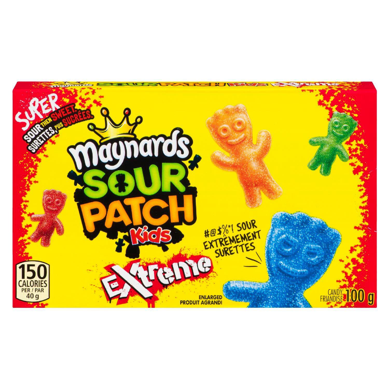 MAYNARDS Sour Patch Kids EXTREME 100 GRM