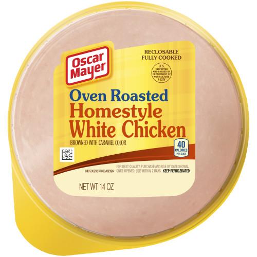 OSCAR MAYER Homestyle White Chicken 14 oz