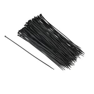 Cable Ties, Black, 11 Inch, Pack of 100