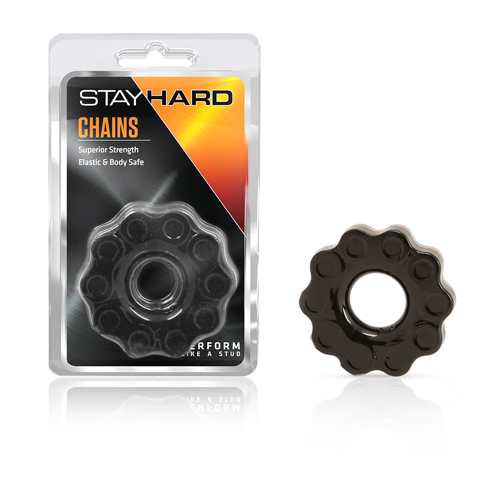 Stay Hard - Chains - Black