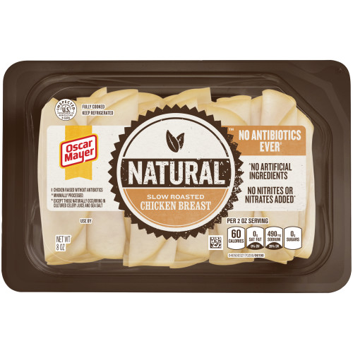 OSCAR MAYER Natural Slow Roasted Chicken Breast 8oz Tray