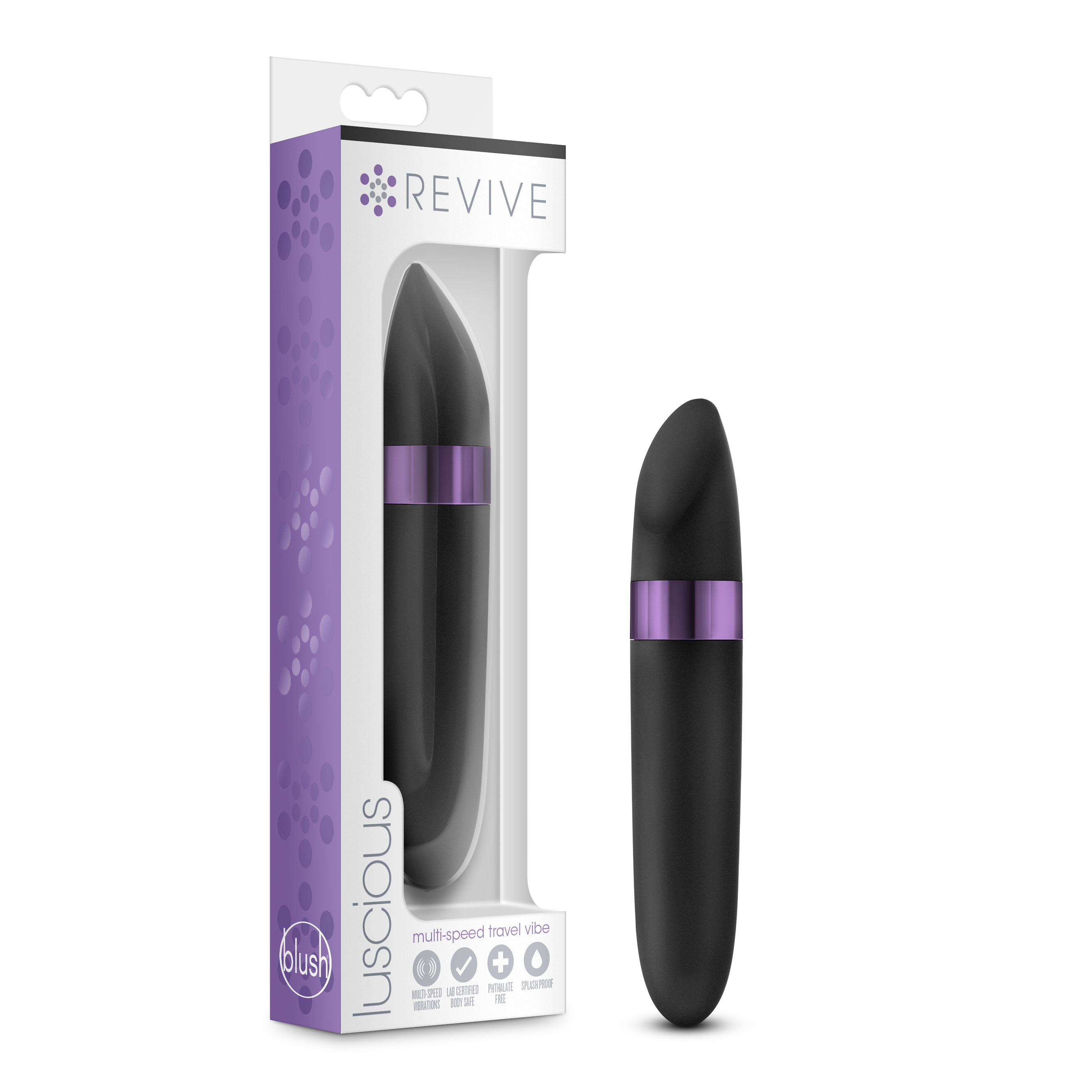 Revive - Luscious - Multispeed Travel Vibe - Black
