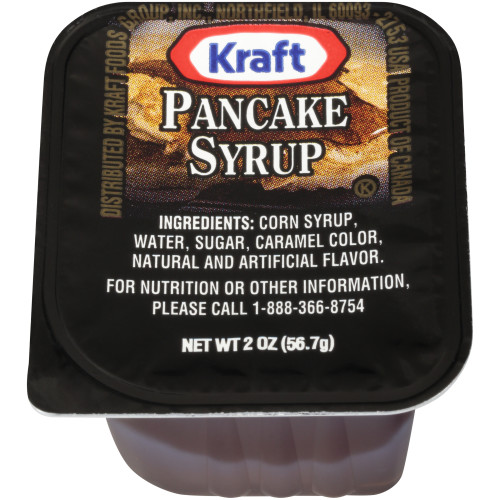 KRAFT Single Serve Table Syrup, 2 OZ Cup (Pack Of 80)