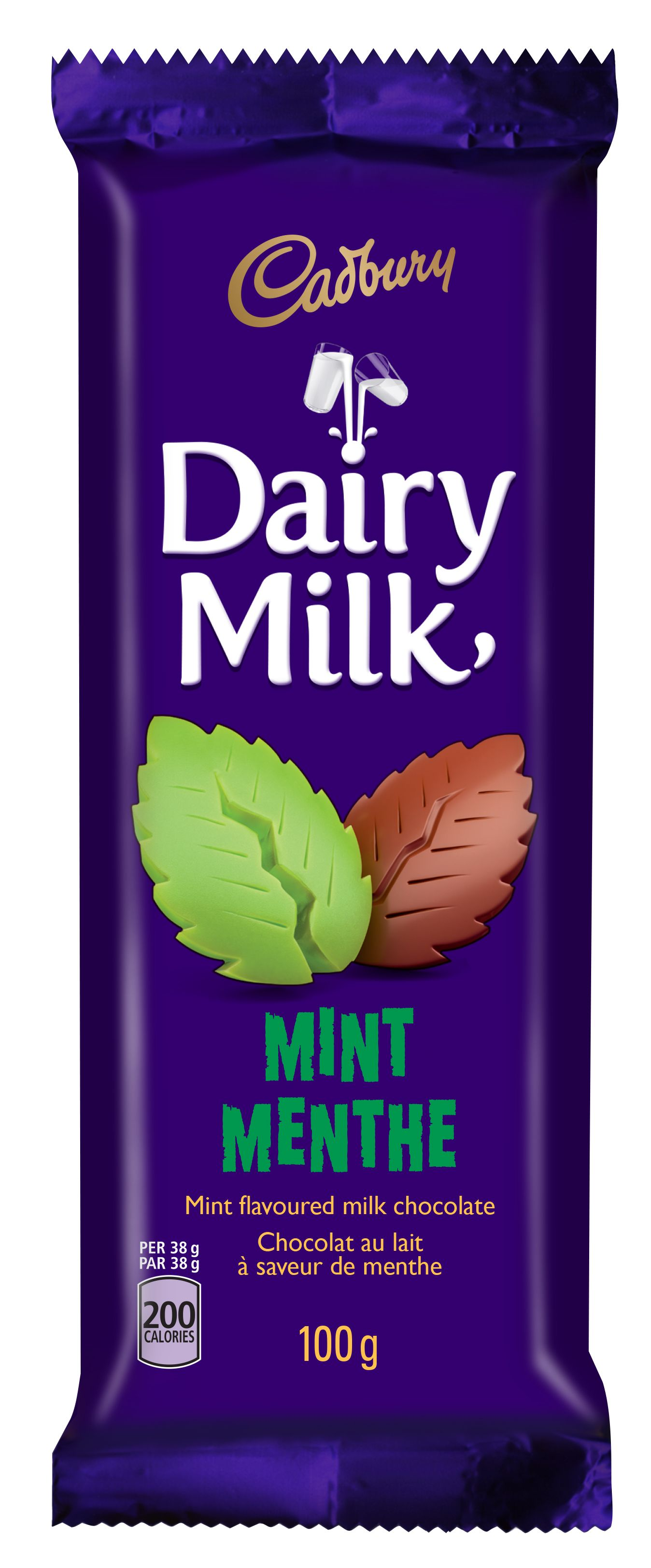Cadbury Dairy Milk Mint Chocolate Bar 100 G