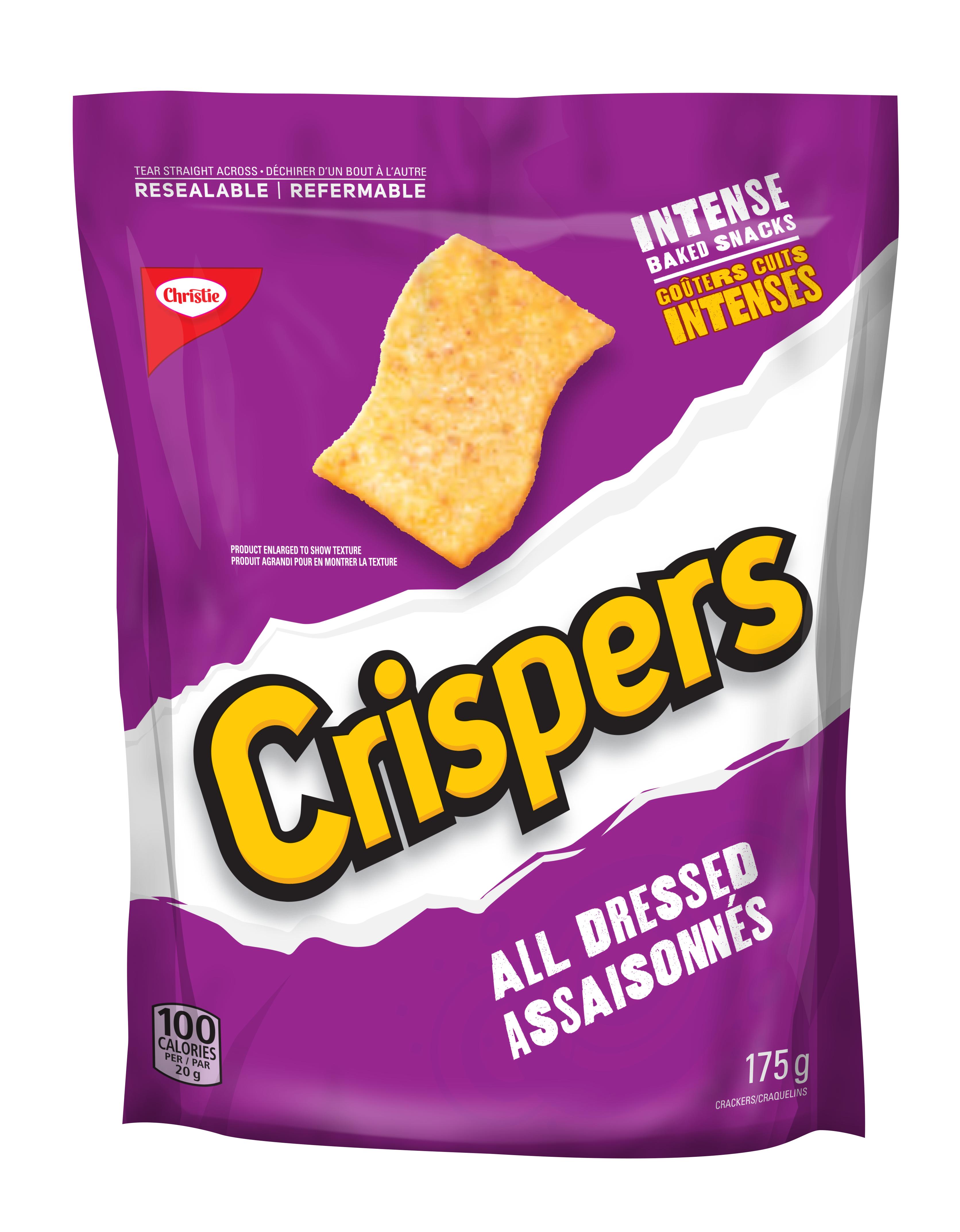 CRISPERS  ASSAISONNÉS 175 GR
