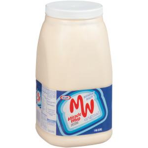 KRAFT Bulk Miracle Whip Mayonnaise, 1 gal. Jug (Pack of 4) image