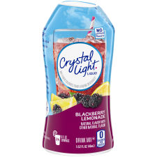 Crystal Light Liquid Blackberry Lemonade Drink Mix, 1.62 oz Bottle