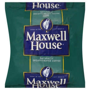 Maxwell House Decaf Coffee-Whole Beans, 2 lb. image