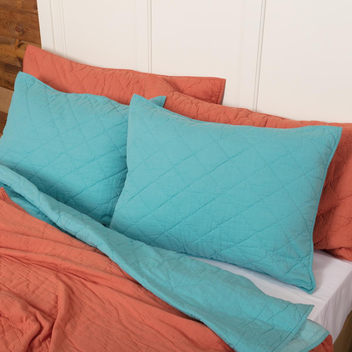 Pueblo Turquoise Standard Sham 21x27