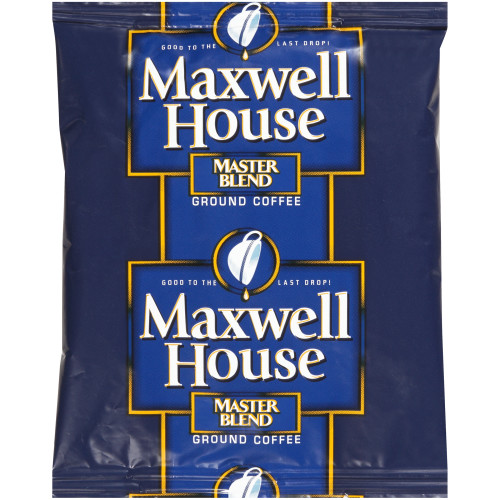 MAXWELL HOUSE Master Blend Ground Coffee, 1.1 oz. Packets (42 Count)
