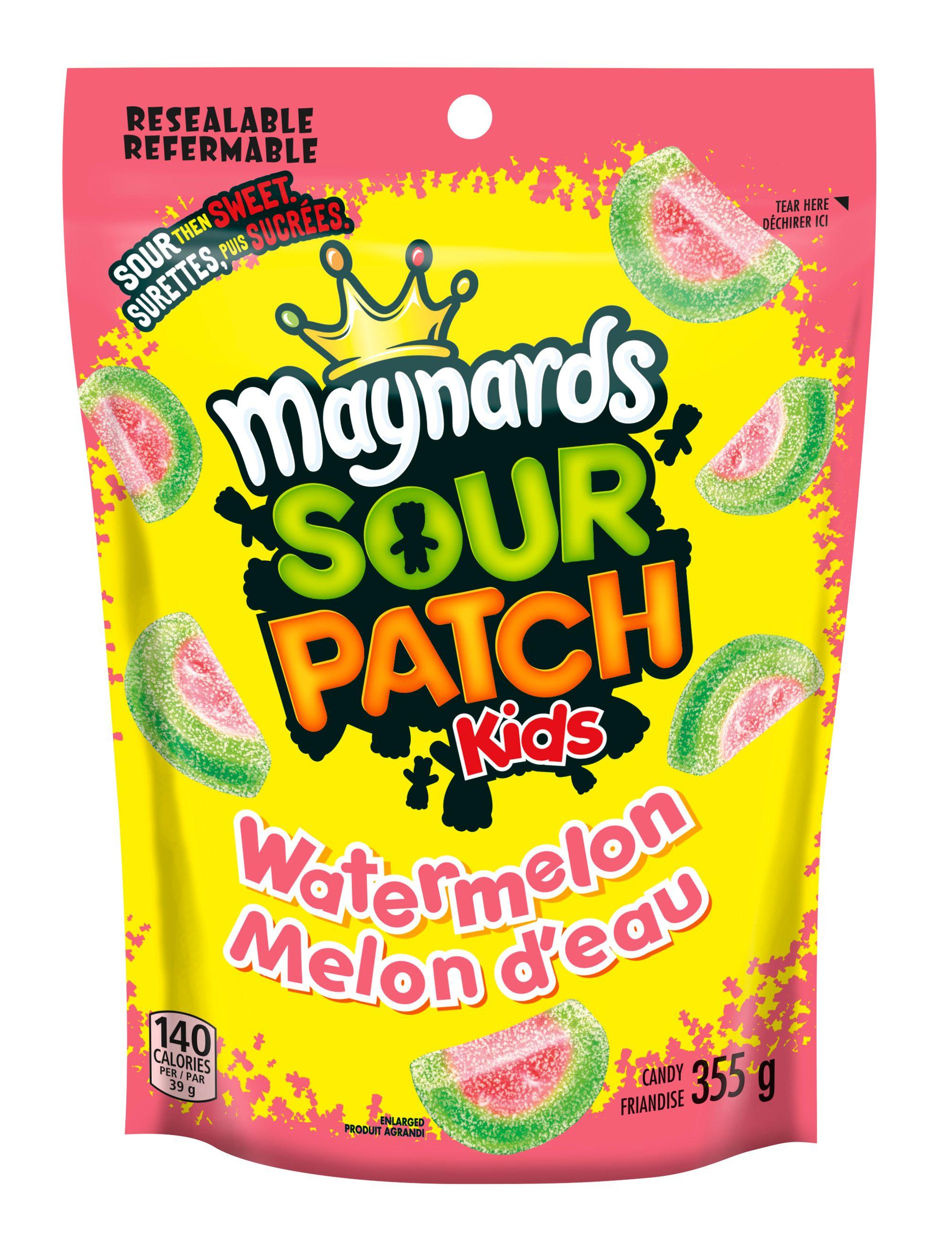 Maynards Sour Patch Kids Watermelon Soft Candy 355 G