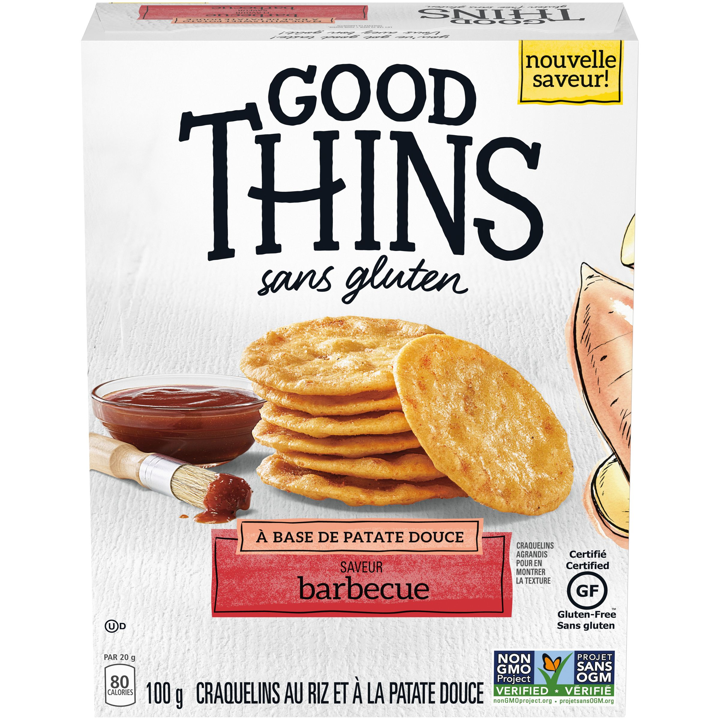 GOOD THINS  PATATE DOUCE 100 GR