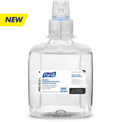 PURELL® Education Advanced Hand Sanitizer Gentle & Free Foam