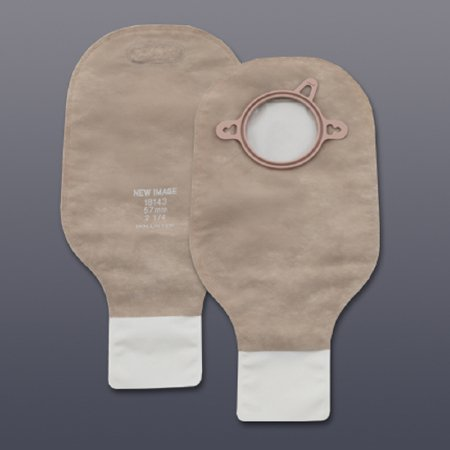 New Image Colostomy Pouch 12 Inch Length Drainable, 18143 - Box of 10