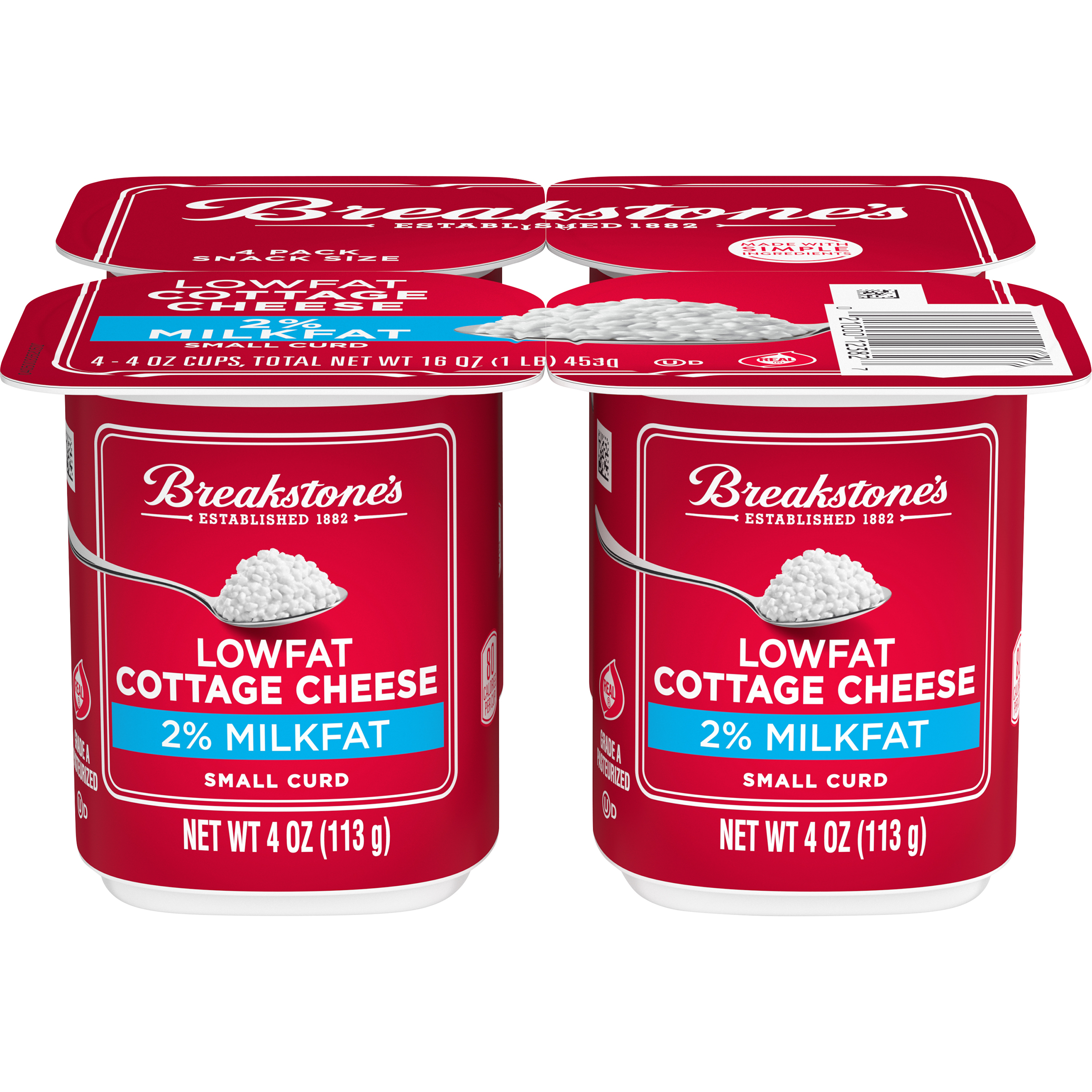 Cottage Cheese Snack Pack - 2%