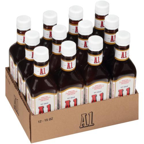 A.1. Original Sauce, 12 ct Pack, 15 oz Bottles
