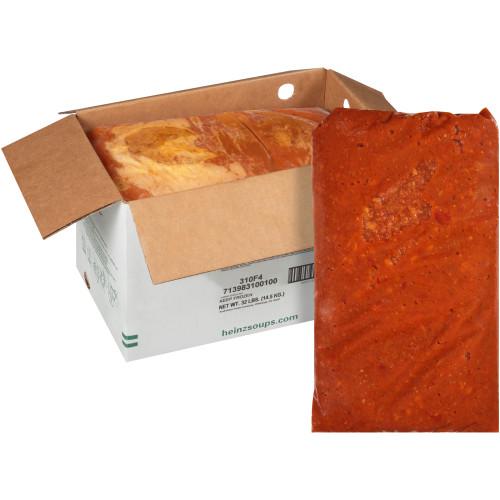 HEINZ TRUESOUPS Vegetarian Chili Soup, 8 lb. Bag (Pack of 4)