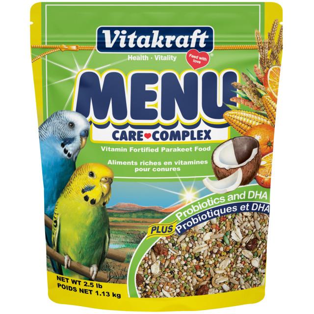 Product-Image showing Menu Parakeet