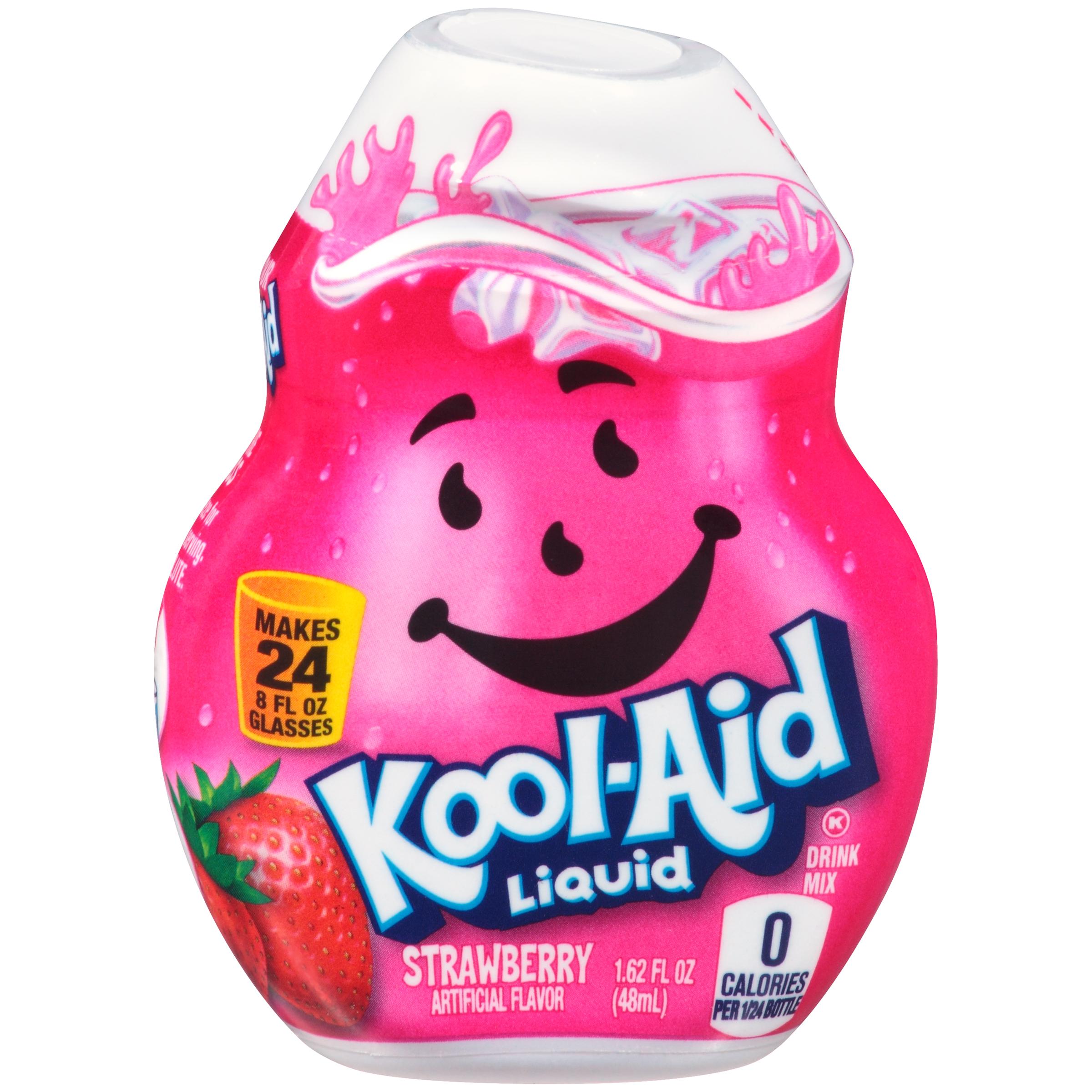 KOOL-AID Strawberry Liquid Drink Mix 1.62 fl oz Bottle image