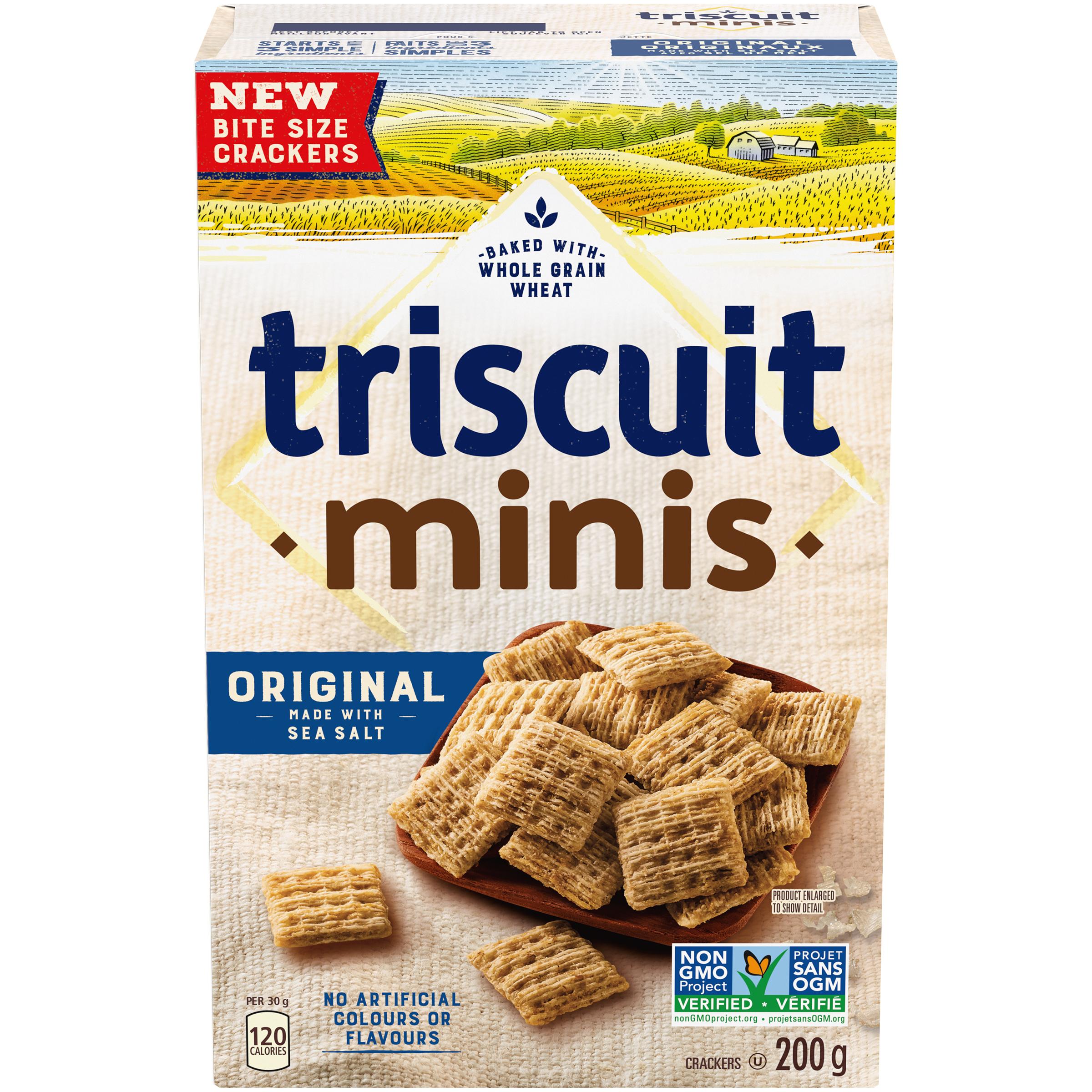 Triscuit Minis Original Crackers-Mini 200 G