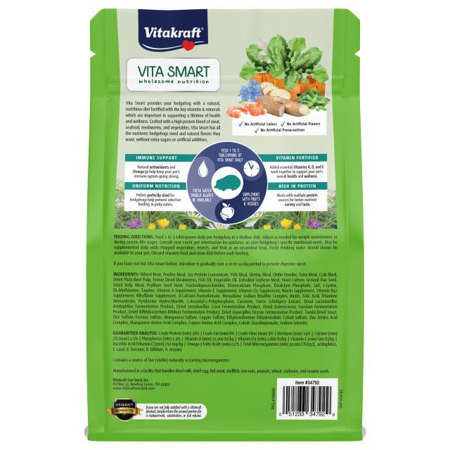Back-Image showing Vita Smart Hedgehog