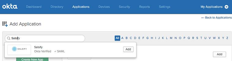 Configuring SSO with Okta