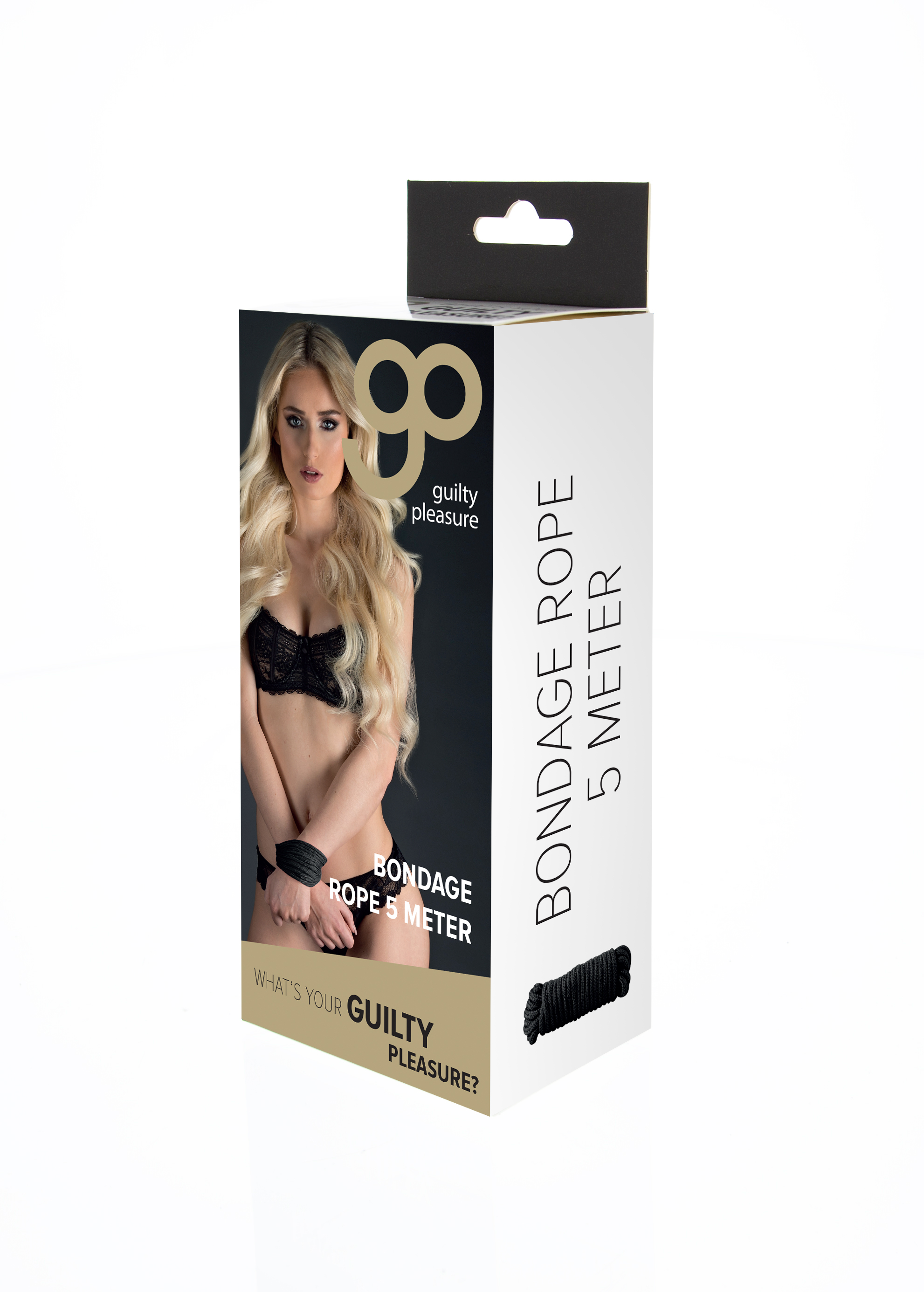 Guilty Pleasure - Bondage Rop 16 Feet - Black