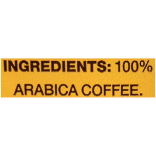 GEVALIA House Blend Roast & Ground Coffee, 2.5 oz. Bag (Pack of 24)