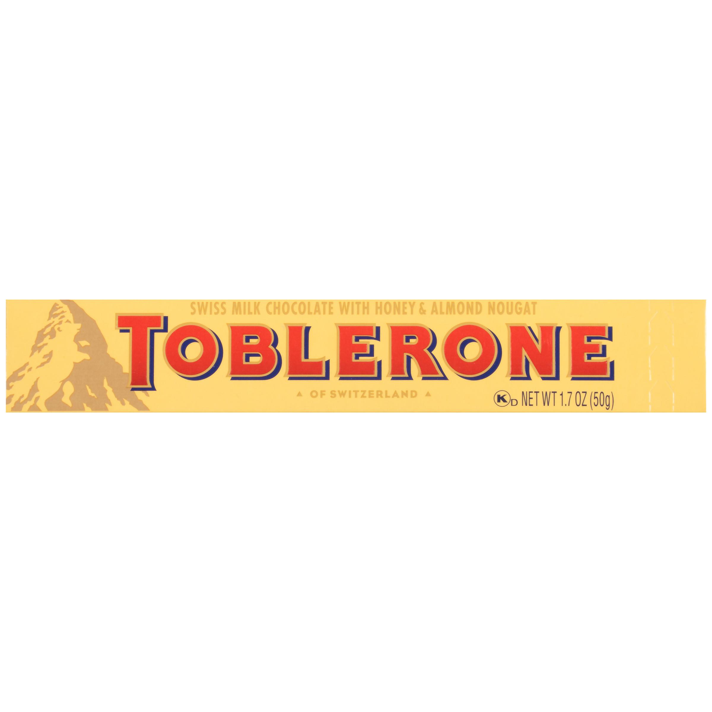 TOBLERONE Milk Chocolate Chocolate Bar 1.77 oz