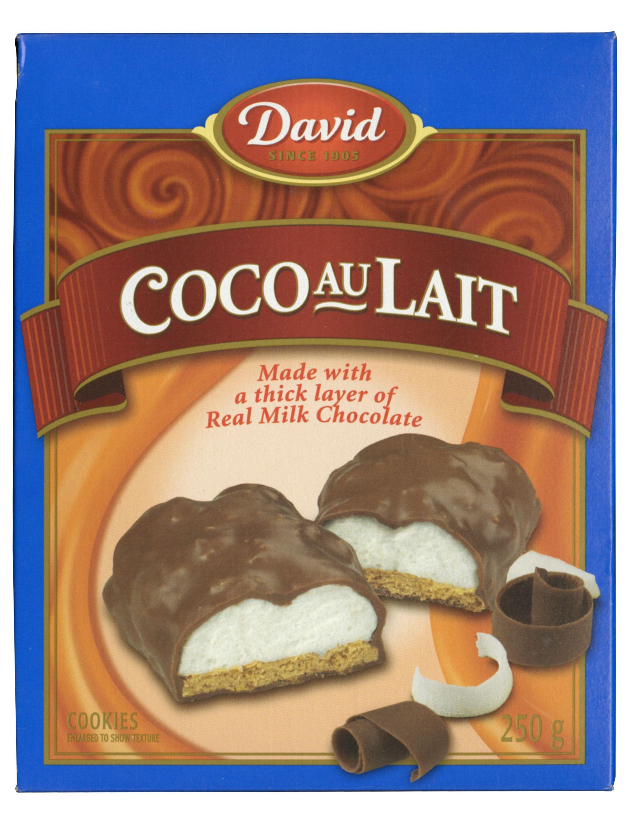 David Coco Au Lait Cookies 250 G