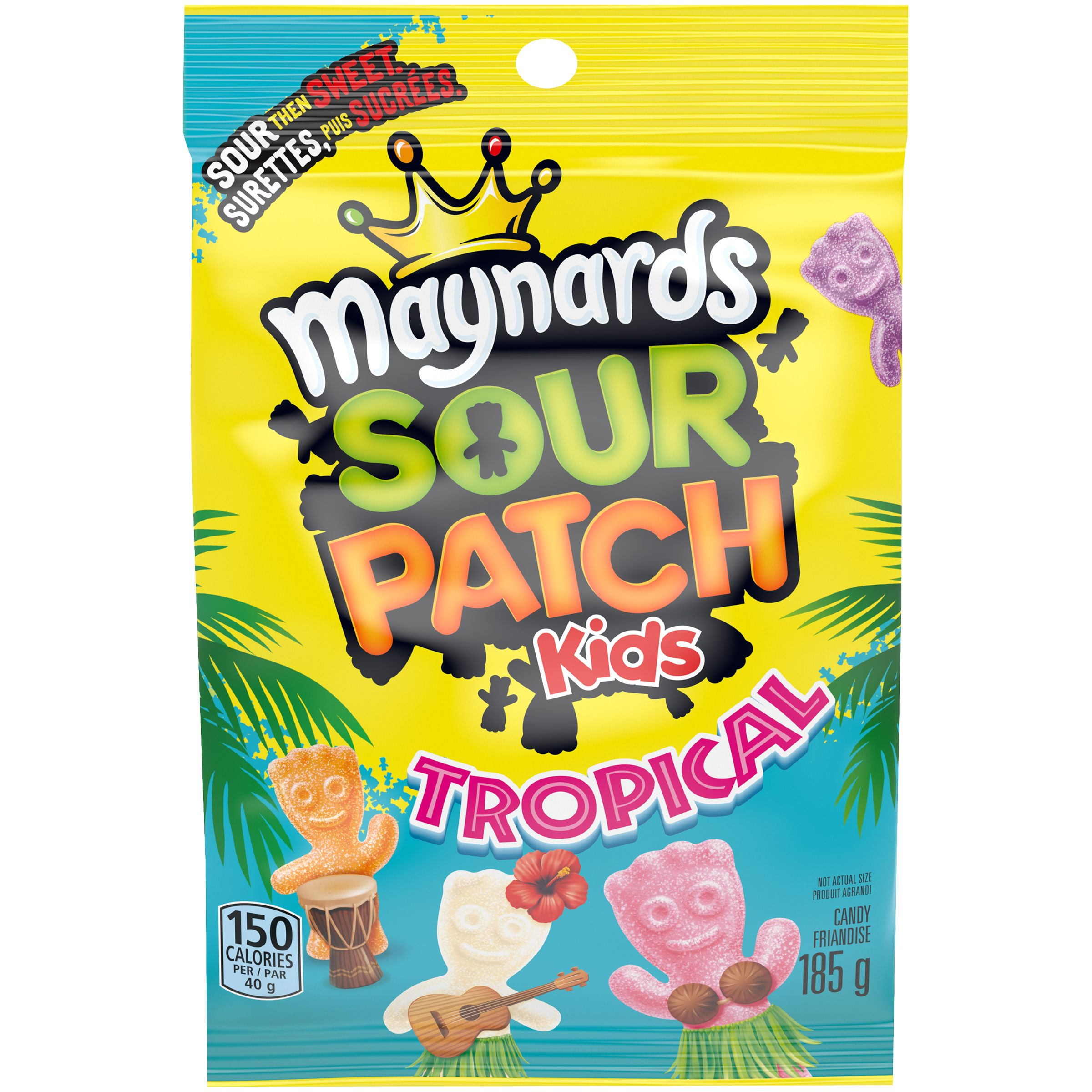 Maynards Sour Patch Kids Tropical Friandise Molle 185 G