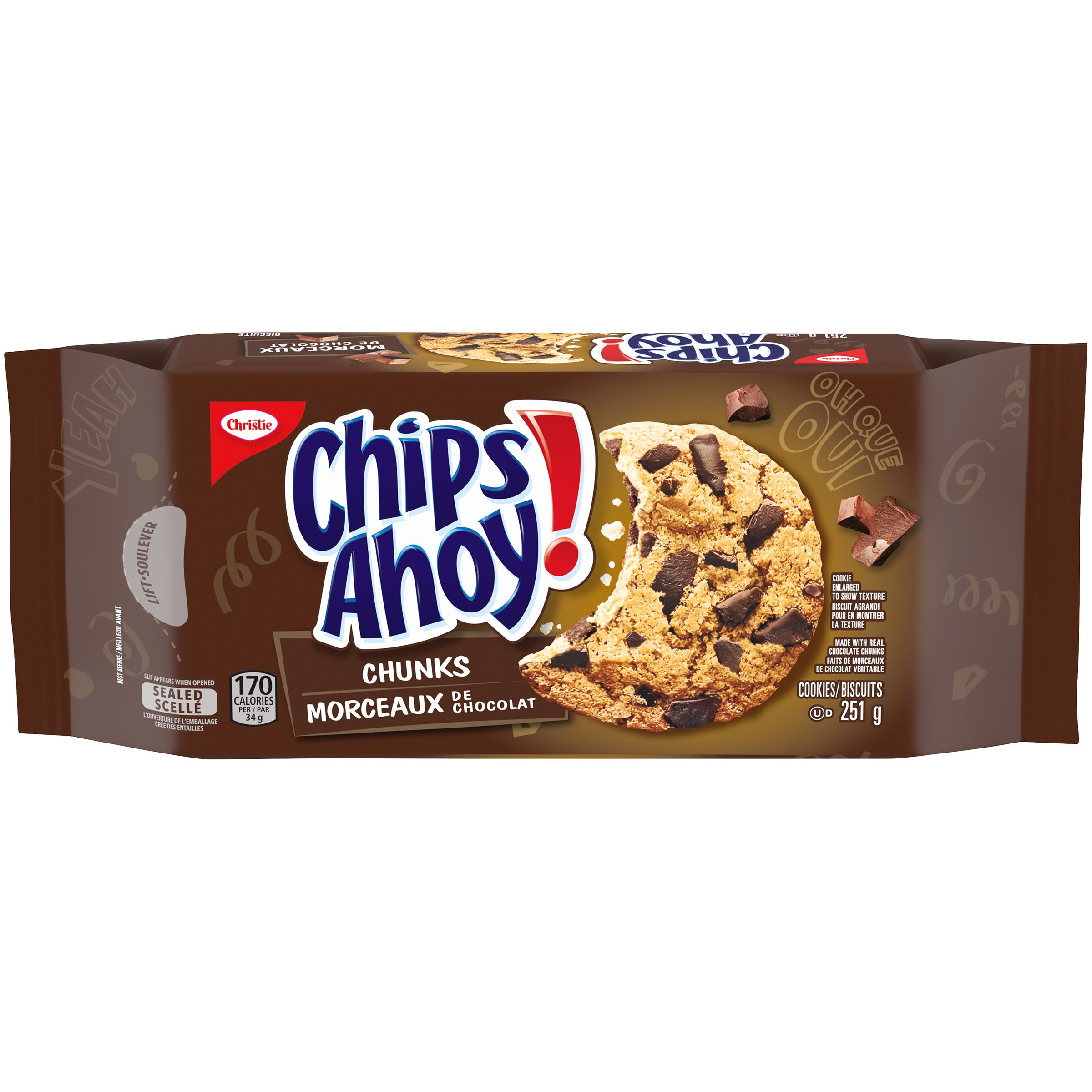 Chips Ahoy! Chunks Biscuits 251 G