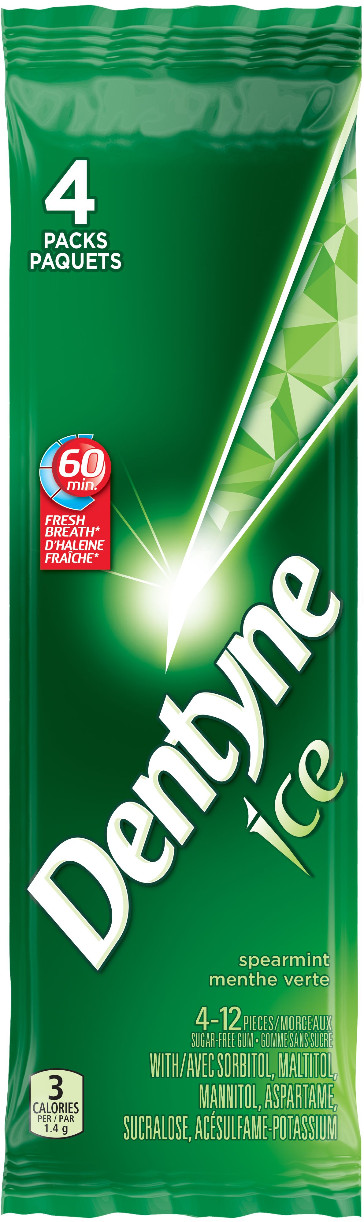 DENTYNE Ice SPEARMINT 48 1N
