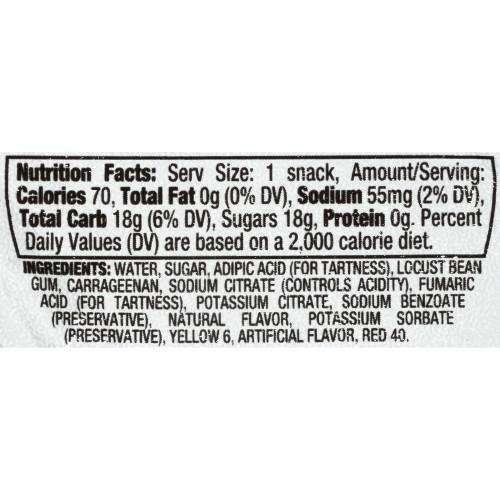 KOOL-AID Orange Gels, 3.5 oz. Cups (4/12 Count)