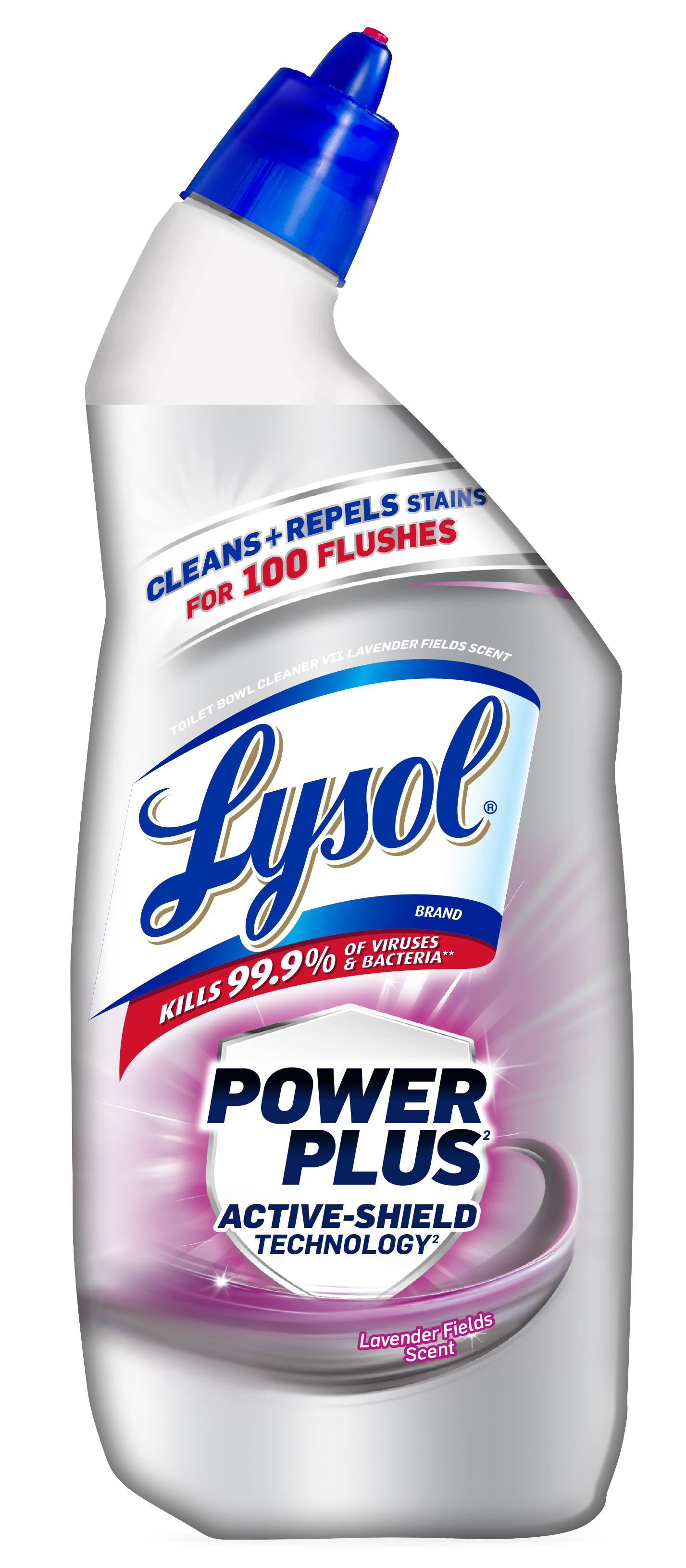 Lysol Toilet Bowl Cleaner Power Plus Lavender Fields 24oz