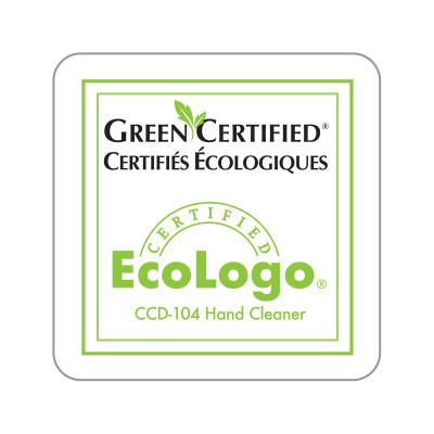 Dispenser Label - EcoLogo® Green Certified