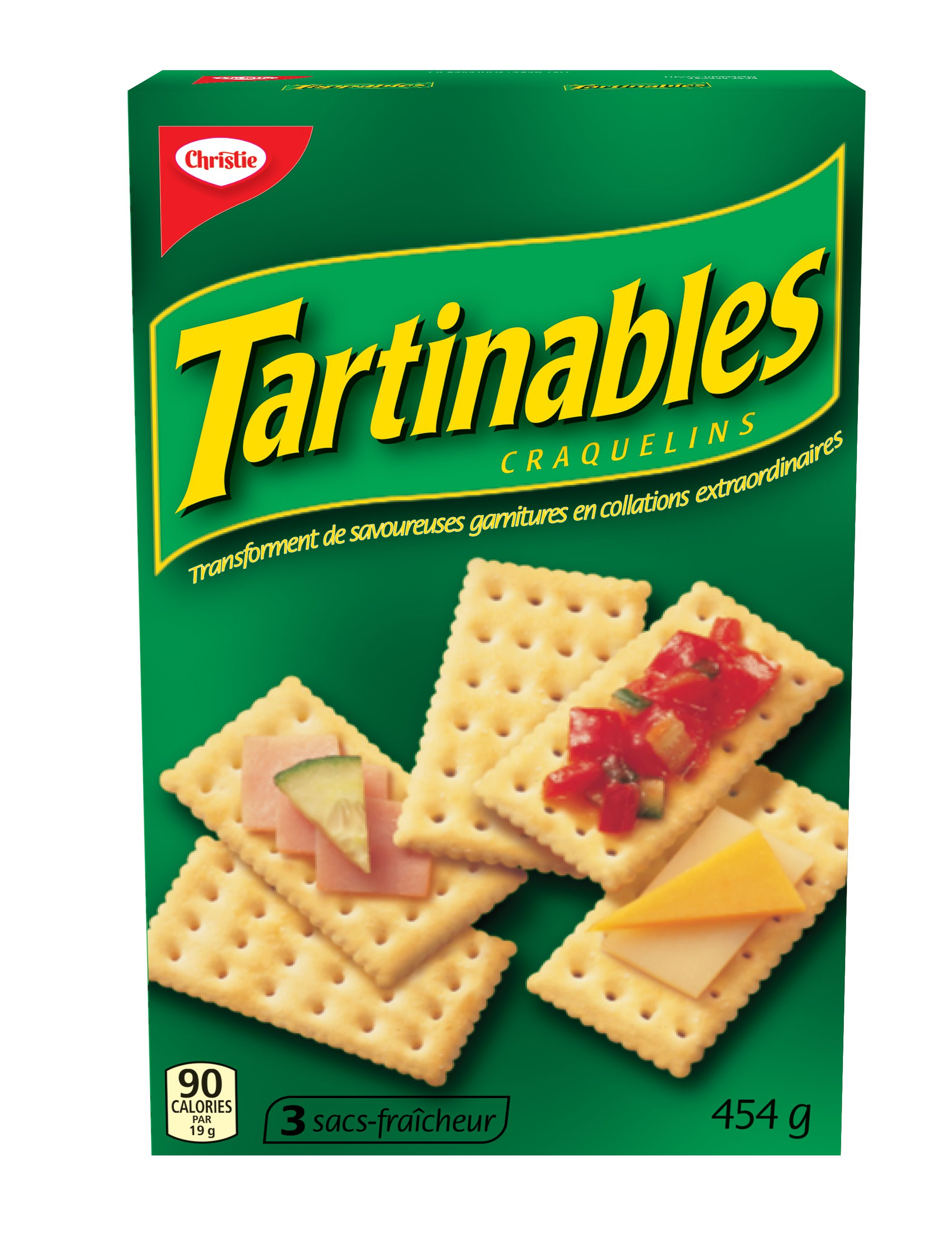 Toppables Crackers 454 G