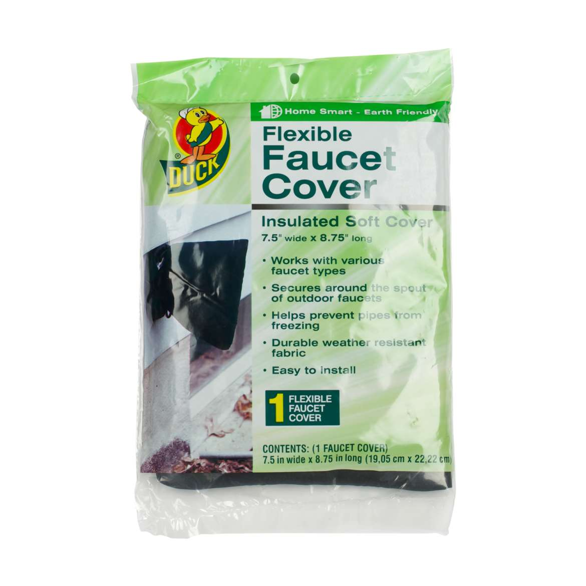 Duck® Brand Flexible Faucet Cover - 11.25 in. x 8.75 in. Image