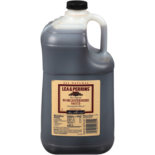 LEA & PERRINS Worcestershire Sauce, 1 gal. Jugs (Pack of 3)