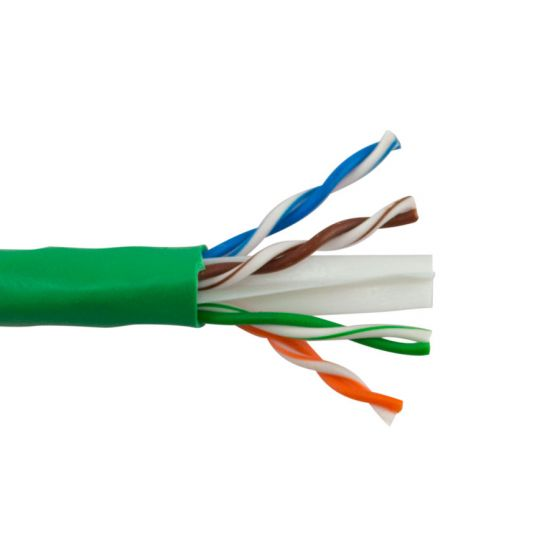 Green Cat5e 550MHz 1000 Cable Wave Electronics