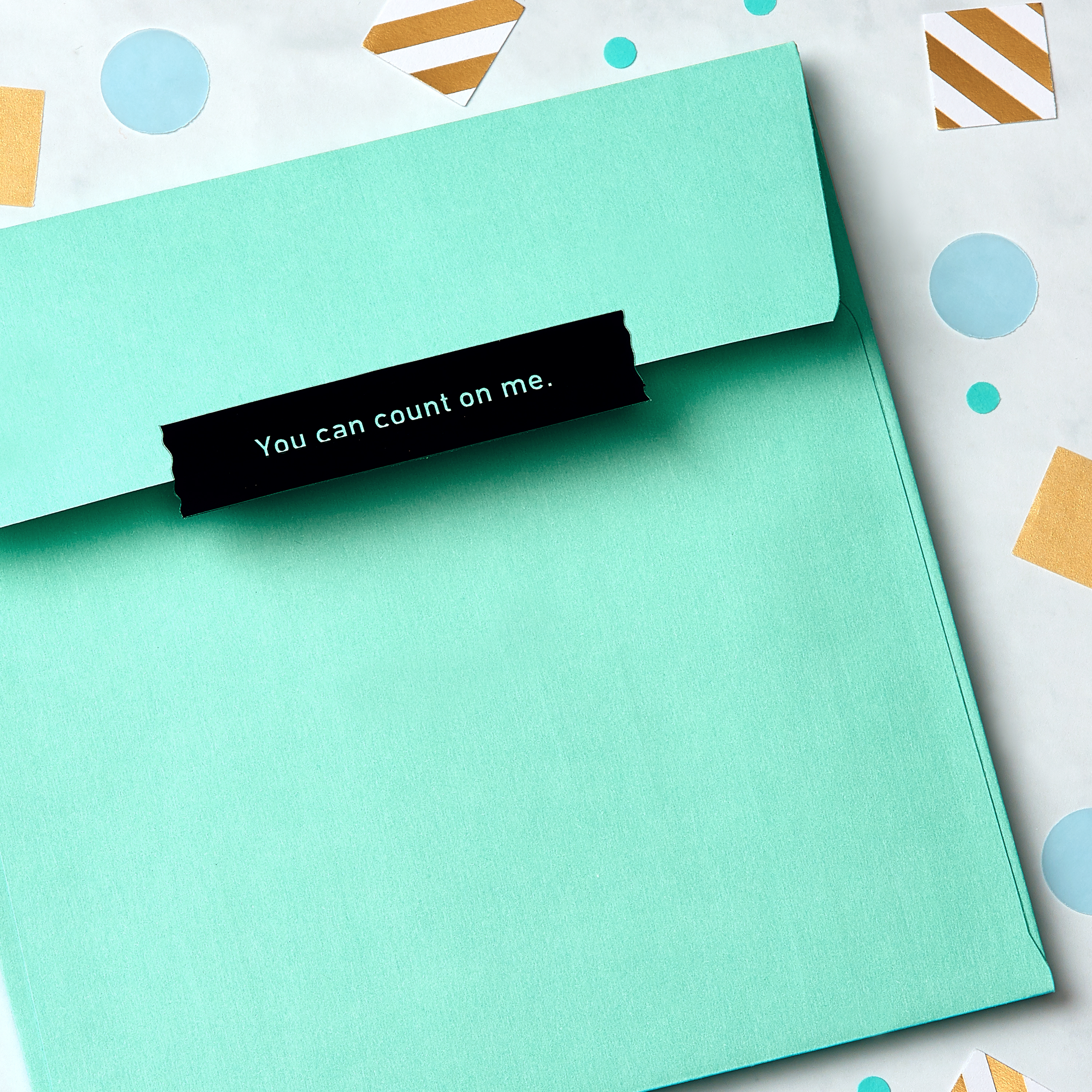 Hug Greeting Card - Support, Thinking of You, Encouragement image